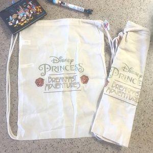 2 Disneyland Princess Breakfast Bags